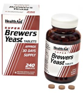HEALTH AID BREWER'S YEAST 240tbs