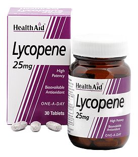 HEALTH AID LYCOPENE 25mg 30tbs