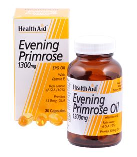 HEALTH AID EVENING PRIMROSE OIL 1,3gr 30caps