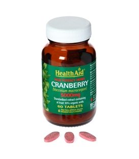 HEALTH AID CRANBERRY 5000mg 60tbs