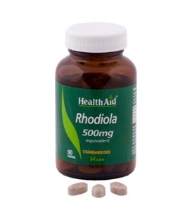 HEALTH AID RHODIOLA 500mg 60tbs