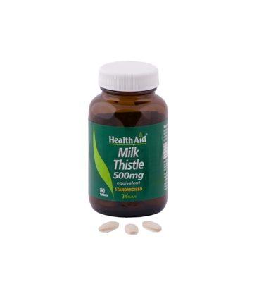 HEALTH AID MILK THISTLE 500mg 30tbs