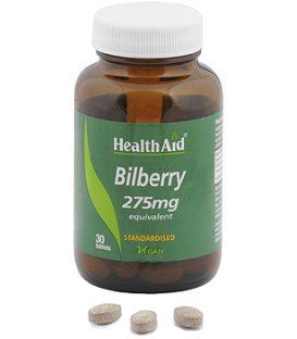 HEALTH AID ΒILBERRY 275mg 30tbs