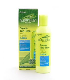 ANTISEPTIC TEA TREE HAND &BODY LOTION 250ml