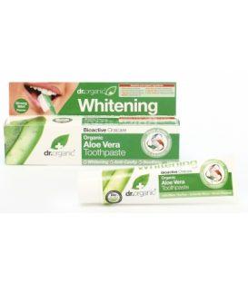 dr.organic  Whitening Aloe Vera Toothpaste 100ml