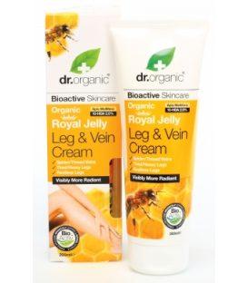 dr.organic Roayl Jelly  Leg & Vein Cream 125ml