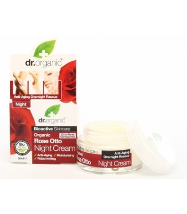 dr.organic Rose Otto Night Cream 50ml