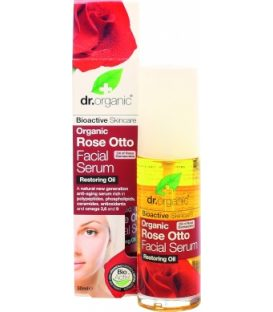 dr.organic Rose Otto Facial Serum 30ml