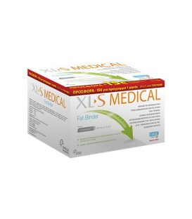 OMEGA PHARMA XLS MEDICAL FAT BINDER 180 caps