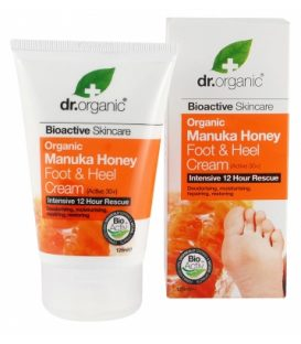 dr.organic Manuka Honey Foot & Heel Cream