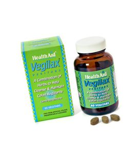 HEALTH AID VEGILAX REGULAR COLON 30tbs