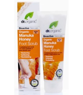dr.organic Manuka Honey Foot  Scrub 125ml