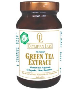 OLYMPIAN LABS GREEN TEA EXTRACT 500mg 60tbs