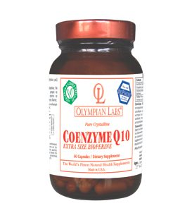 OLYMPIAN LABS COENZYME Q10 EXTRA SIZE BIOPERINE 150mg 60caps