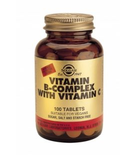 SOLGAR B-COMPLEX WITH VITAMIN C