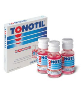 TONOTIL 10*10ml ampoules with 4 aminoacids