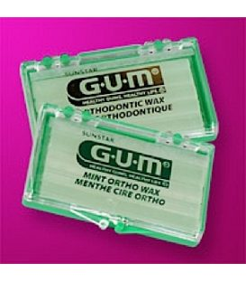 GUM BUTLER ORTHODONTIC WAX UNFLAVORED