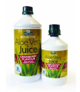 OPTIMA ALOE VERA JUICE  WITH GRANBERRY 1Lt