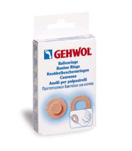 GEHWOL BUNION RING ROUND 6pcs