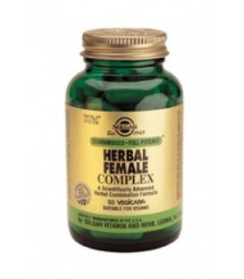 SOLGAR HERBAL  FEMALE COMPLEX  50caps