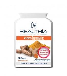 HEALTHIA  X-TRA TURMERIC 500mg 60caps