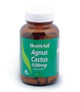 HEALTH AID AGNUS CASTUS 550mg