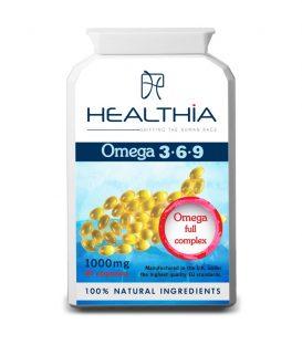 HEALTHIA Ω 3- 6- 9 90caps