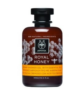 APIVITA BODY  SHOWER ROYAL  HONEY 300ml