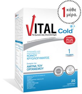 VITAL COLD lipid caps 30