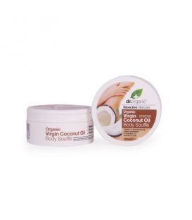 Dr.Organic coconut oil Body souffle 250ml