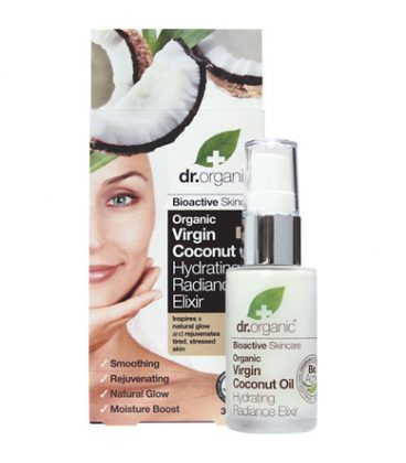 Dr.Organic Coconut Oil hydrating Radiance Elixir 30ml