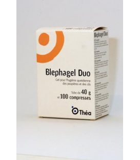 BLEPHAGEL DUO 100 compresses
