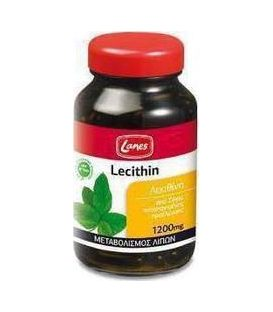 LANES LECITHIN 1200mg 75tbs