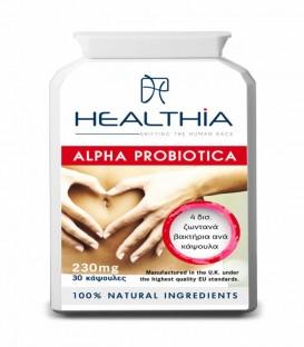 HEALTHIA ALPHA PROBIOTICA FULL SPECTRUM 30CAPS