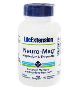 LIFE EXTENSION NEURO - MAGNESIUM THREONAT 90veg.caps.