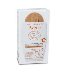 AVENE FLUIDE MINERAL TEINTE SPF 50 40ml