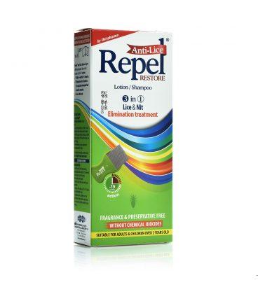 UNI PHARMA REPEL Anti-lice Restore Αντιφθειρική Λοσιόν 200ml.