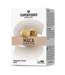 SUPERFOODS MACA 300mg 50caps