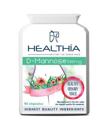 HEALTHIA D-Mannose 500mg
