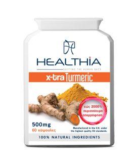 HEALTHIA X-tra Turmeric 500mg