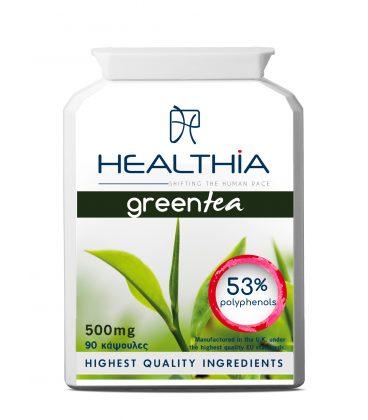 HEALTHIA Green Tea 500mg