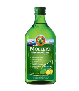 Moller's Μουρουνέλαιο Ομέγα 3 Lemon 250 ml