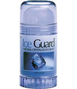 ICE GUARD NATURAL CRYSTAL DEODORANT STICK120gr