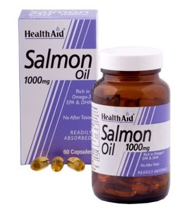 HEALTH AID SALMON OIL 60caps