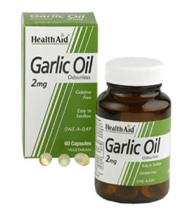 HEALTH AID GARLIC OIL 2mg