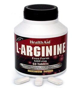 HEALTH AID L-ARGININE 60tabs