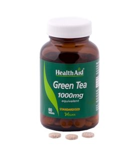 HEALTH AID GREEN TEA EXTRACT  1000mg 60tabs